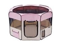 Pink Kitten / Puppy / Cat Playpen Barely Used