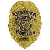 New York Police Badge