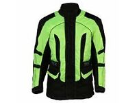"""Waterproof Vented Motorcycle Jacket Excelent Condition 42"""" Chest"""