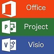 Microsoft Office Project and Visio bundle 2016 Pro versions