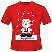 Unisex Adults Christmas t Shirt