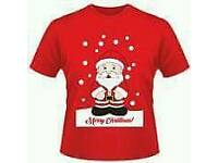 Unisex Adults Christmas t Shirt