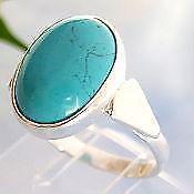 Ring Silber Türkis