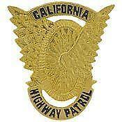 Motorcycle Police Badge