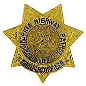 California Police Badges