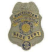 California Fire Badge