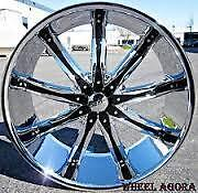 NEW!24 inch chrome rims with NEW TIRES!! DW29 navigator,escalade