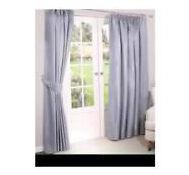 Perfect linen curtains Dulemn Mill pair 229x229 cm each