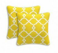 OUTDOOR SCATTER CUSHIONS – YELLOW AND WHITE WAVE Alexandria Inner Sydney Preview