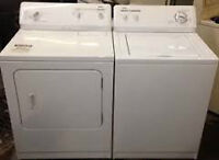"Lrg Capacity WASHER $250 & DRYER $175 > Used ""SALE""> 9267 -50 St"