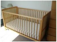 Cot bed ( from Mothercare) for sale