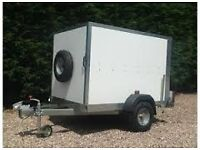 WANTED - 6x 4 trailer box trailer suitable for car boots , gardening , storage