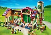 Playmobil farm and tractor