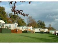 Workers Caravan to rent at Letham Feus Park