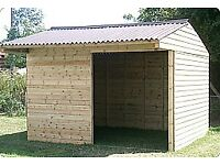 BRAND NEW 12 x 10 FIELD SHELTER HORSE STABLE
