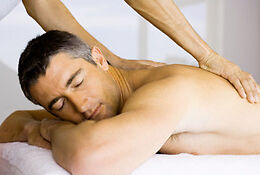Full body Relaxation massage by Asian male masseur.