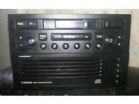 Blaupunkt Cassette player/5 disc CD Changer 22RC260 Car radio/Headunit