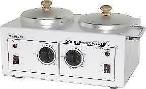 Double wax heater.