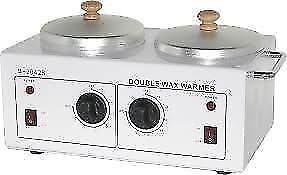 Double wax heater.