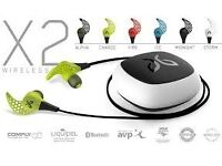 Jaybird X2 In-Ear Bluetooth Wireless Sports Headphones Compatible with iOS/Android Smartphones