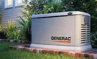 Standby Generators, Electrical & Lighting, Gas, HVAC & Fireplace