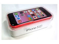 APPLE iPhone 5C 8GB PINK, MINT AS NEW, BOXED WITH ACCESSORIES, UNLOCKED, 6 MONTHS WARRANTY
