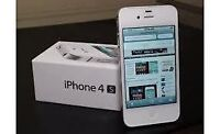 Mint Condition iPhone 4s (Bell/Virgin)-White-16GB=$140