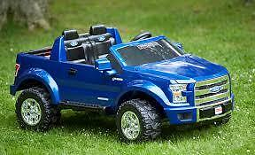 Fisher-Price Power Wheels Ford F-150 (Blue)