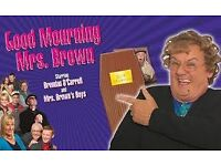 4 x Tickets for Good Mourning Mrs Brown at London 02