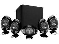 Wanted home cinema sorround sound speakers.