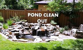 SPRING POND OPENING / CLEANING SERVICES