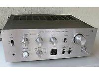 A JVC JA-S31 HI FI HIFI AMPLIFIER AMP 40W X CHANNEL VINTAGE HIFI SEPERATES IN SILVER