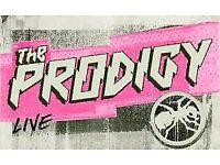 2 x standing The Prodigy tickets, Thursday 14th December, Manchester o2 Apollo