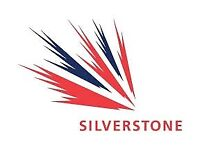 BRITISH GRAND PRIX AT SILVERSTONE SAT AND SUN TICKETS FOR SALE