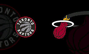 Raptors vs Miami Heat - Set of 4 - *Lower Bowl* (117)