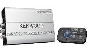 Kenwood 400 watt, Bluetooth Marine Amplifier