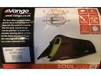 2 Man Tent Vango Soul 200