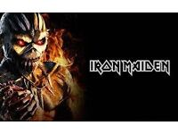 Iron Maiden ticket Nottingham arena