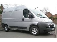 Man and van short notice, 24/7 from £15 removal service