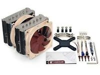 Noctua NH-D14 CPU Cooler, Cleaned, No Box, Good Quality.