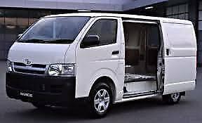 Hire 1 Ton HiAce commercial Van