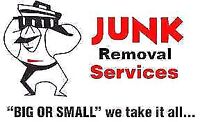 Junk removal services big or small we take it all