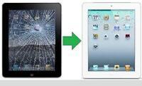 Repair VITRES iPad ; 2 – 3 – 4 – iPad Mini Metro Longueuil !!