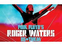 ROGER WATERS US + THEM SECC GLASGOW FRIDAY NIGHT Tickets X 2