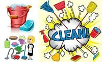 $40 weekly cleaning...only a few spots left