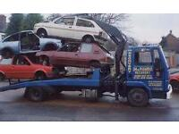 Scrap cars and vans lifted mot failures and end of life vehciles cash paid