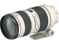 Canon EF 70-200mm F/2.8 EF IS L (mk i) USM Lens
