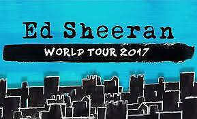ED SHEERAN - MELBOURNE - 4X TICKETS - SUN 11 MARCH 18 Melbourne CBD Melbourne City Preview