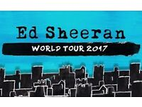 Ed Sheeran O2 Tickets x 2 Standing get close up! £100 (In hand)