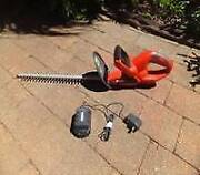 Cordless Hedge & Shrub Trimmer Harristown Toowoomba City Preview